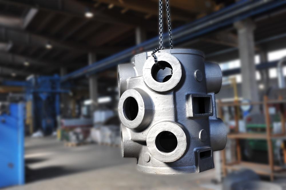 * Zylinder in EN-GJS400-15<br>kg. 1.200