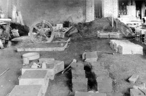 Innenansicht der altern Gießerei